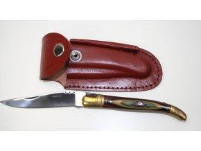 Zavírací nůž Stainless zlato-červený