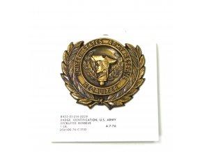 Odznak US ARMY RESERVE - Recrutier