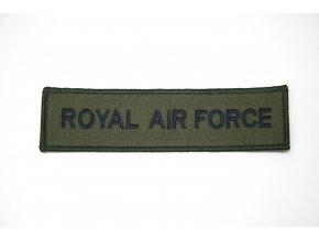 Nášivka ROYAL AIR FORCE - oliv