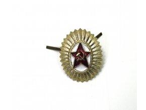 Odznak na čepici CCCP