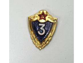 Odznak CCCP -Rusko- odznak třídnosti III.