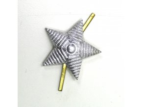 Odznak CCCP - Rusko - stříbrná hvězda