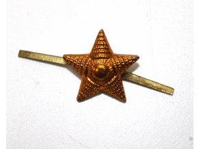 Odznak CCCP - Rusko - hvězda