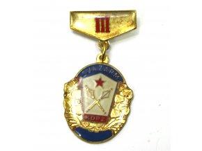 Odznak SVAZARM KDPZ III