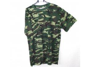Tričko, triko krátký rukáv Blossom - woodland