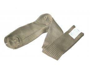 Ponožky Italské armády - oliv