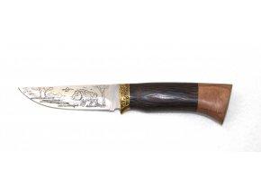Lovecký nůž s pevnou rukojetí