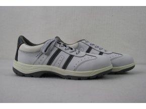 Boty, obuv polobotky FIRSTY - bílé