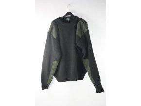 Pletený svetr - zelený