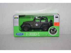 Autíčko kovové Jeep Wrangler