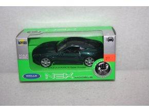 Autíčko kovové Jaguar Coupe