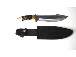 Nůž 20cm s ozdobnou rukojetí Pakistan