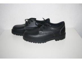 Pracovní obuv, boty Elstrote - černé
