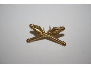 Odznak ČSLA palcát - zlatý