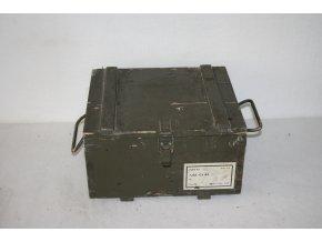 Bedna dřevěná muniční 18 kg