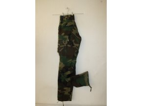 Kalhoty US COMBAT RipStop, hot weather - woodland