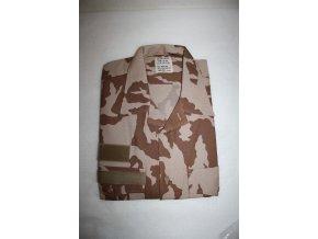 Košile vz. 95 AČR v béžovém potisku - desert