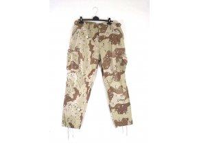 Kalhoty US Combat  - 6 col desert