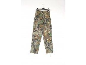 Kalhoty v maskování oak