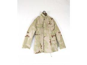 Polní kabát,bunda M65 - desert