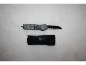 Vystřelovací celokovový nůž - vlk