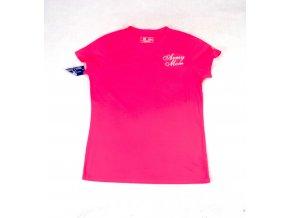 Dámské tričko New Balance Army Mom růžové ab7b7a5754
