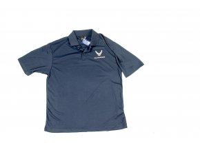 Tričko Polo Anvil U.S. Air Force modré 38e33f33ab
