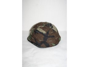 Potah na helmu US PASGT - woodland