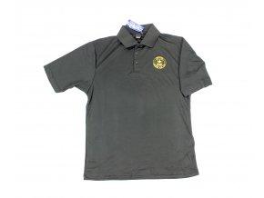 Tričko polo Reebok U.S. Army černé