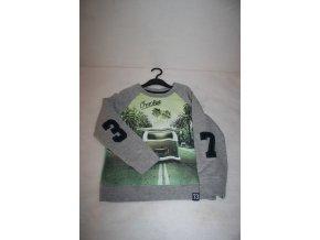 Mikina dětská tepláková CHEROKEE - zelená