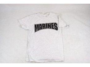 Tričko, triko Gildan Marines šedá