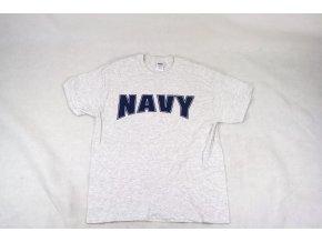 Tričko, triko Gildan NAVY šedé
