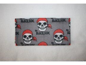 Multifunkční šátek - black side
