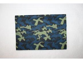 Multifunkční šátek - blue camo