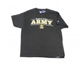 Tričko, triko U.S. Army černé