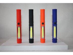 SVÍTILNA, BATERKA LED PLASTOVÁ - různé barvy