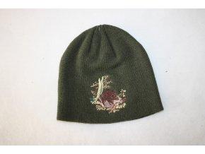Čepice pletená - divočák