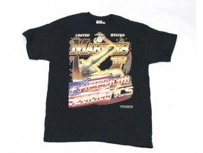 Tričko, triko Gildan US Marines černé