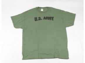 Tričko, triko Gildan U.S. ARMY zelené