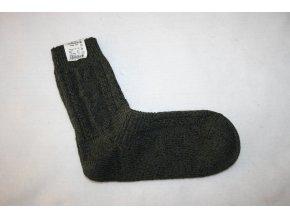 Ponožky pletené HALALI - zelené