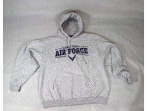 Mikina Nublend U.S. Air Force - šedá