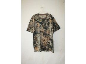 Triko, tričko Loshan s krátkým rukávem 3D - realtree