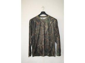 Triko, tričko LOSHAN s dlouhým rukávem 3d - realtree
