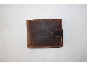 Peněženka kožená WILD - sumec