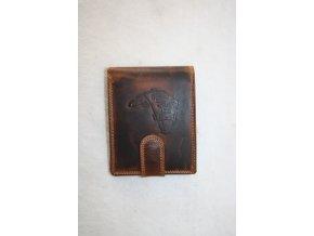 Peněženka kožená WILD - kapr