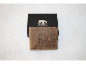 Peněženka kožená Hunters Premium 5700LB - medvěd