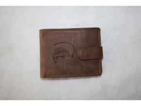 Peněženka kožená HL - kapr