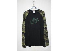 Triko, tričko s dlouhým rukávem Knebl - kapr