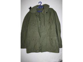 Kabát, bunda, parka WIND RESISTANT, SATEEN, OG 107 - oliv