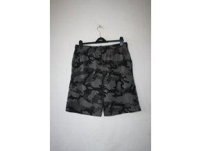 Kraťasy, bermudy, šortky VANNY - black camo